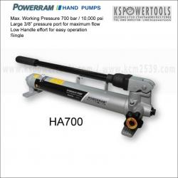 แฮนดปั๊มไฮดรอลิค HA-700 POWERRAM