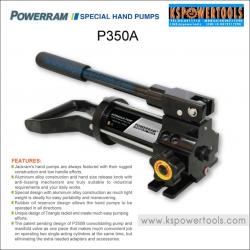 แฮนด์ปั๊มไฮดรอลิค PowerramP350-A